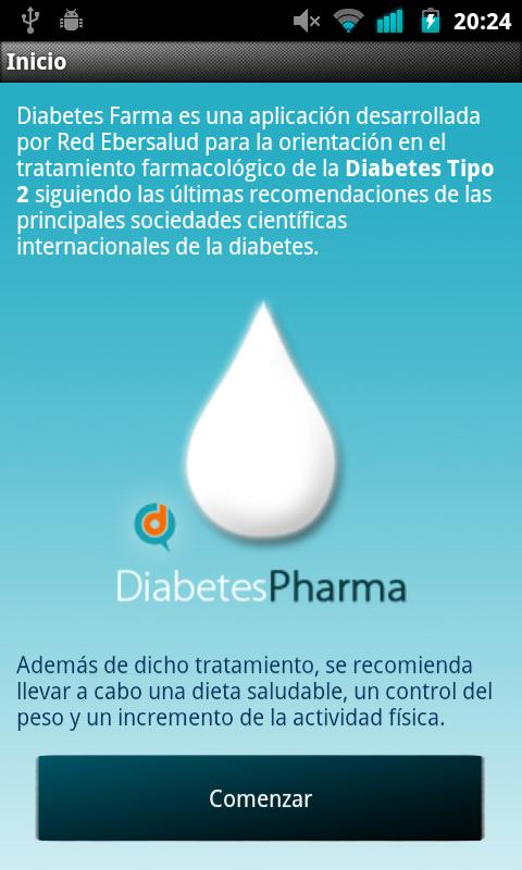 Diabetes Pharma Lite - screenshot
