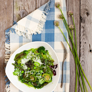 Broccoli Stem Riceless Risotto