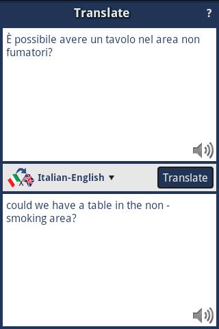 Italian-English Translator