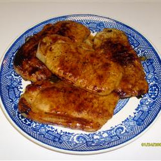 Honey Mustard Dream Delight Pork Chops