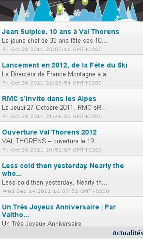 Mag des Cimes - screenshot