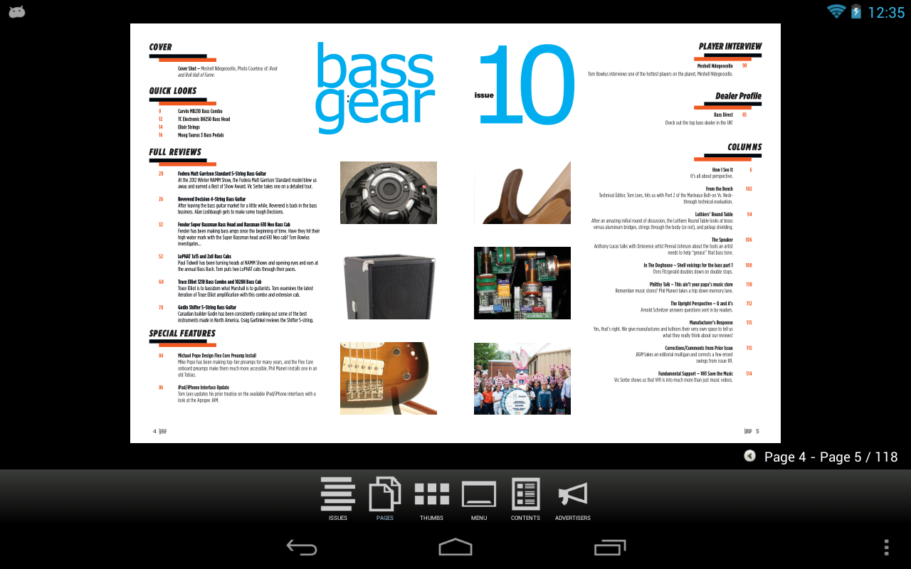 Bass Gear - screenshot