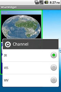 Weather satellite widget- screenshot thumbnail