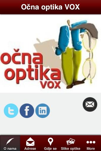 Očna optika i optometrija VOX