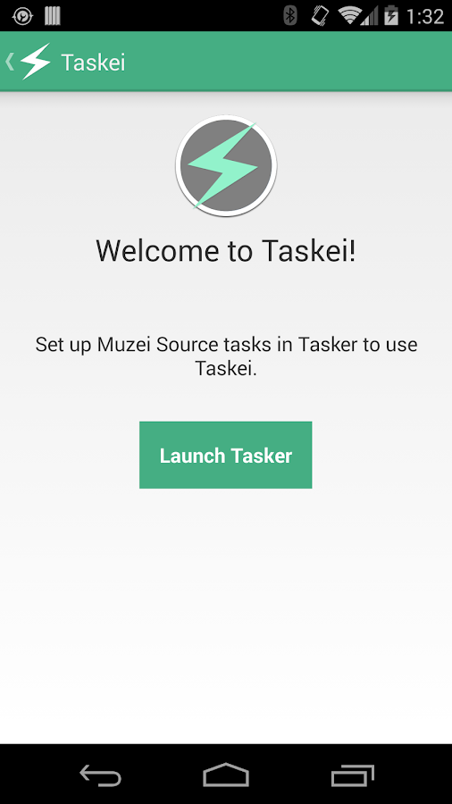Taskei - Tasker for Muzei - screenshot