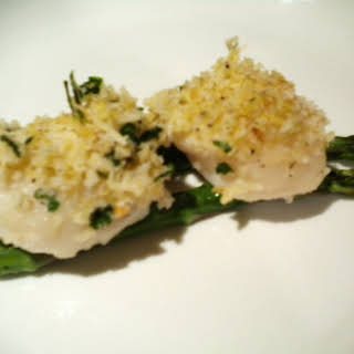 Very Simple Baked Scallops.