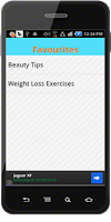 Screenshot of Beauty Tips & Exercises
