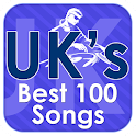 UK's Best 100 Songs logo