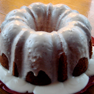 Carrot Bundt Cake with Cream Cheese Glaze