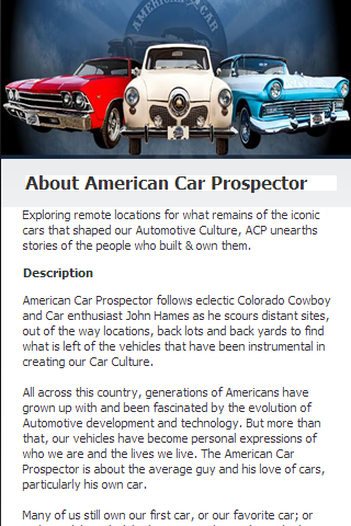 American Car Prospector