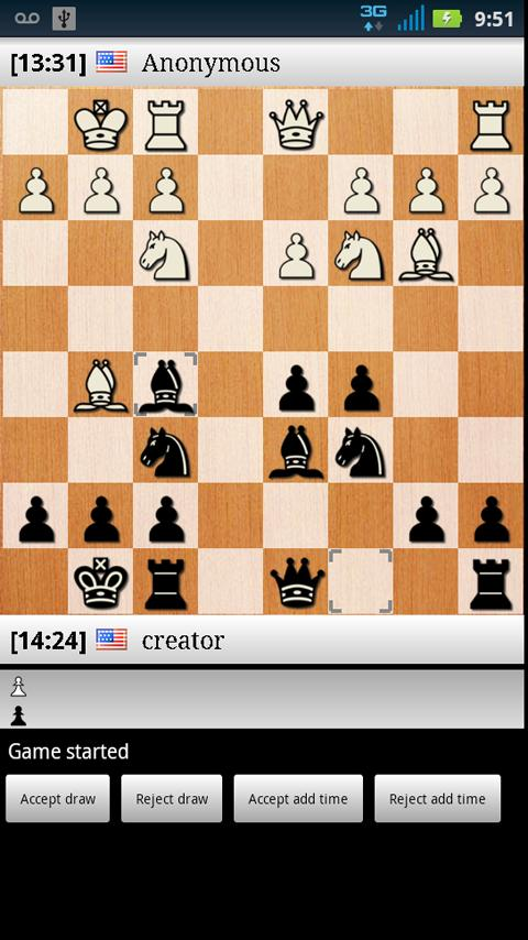 Nexus Online Chess Multiplayer - screenshot