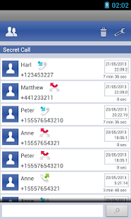 Hide Calls Automatically: miniatura de captura de pantalla