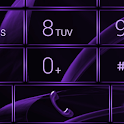 Dialer MetalGate Purple skin