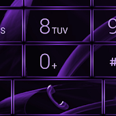 Dialer MetalGate Purple skin