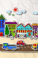 Screenshot of paper town 3Dライブ壁紙