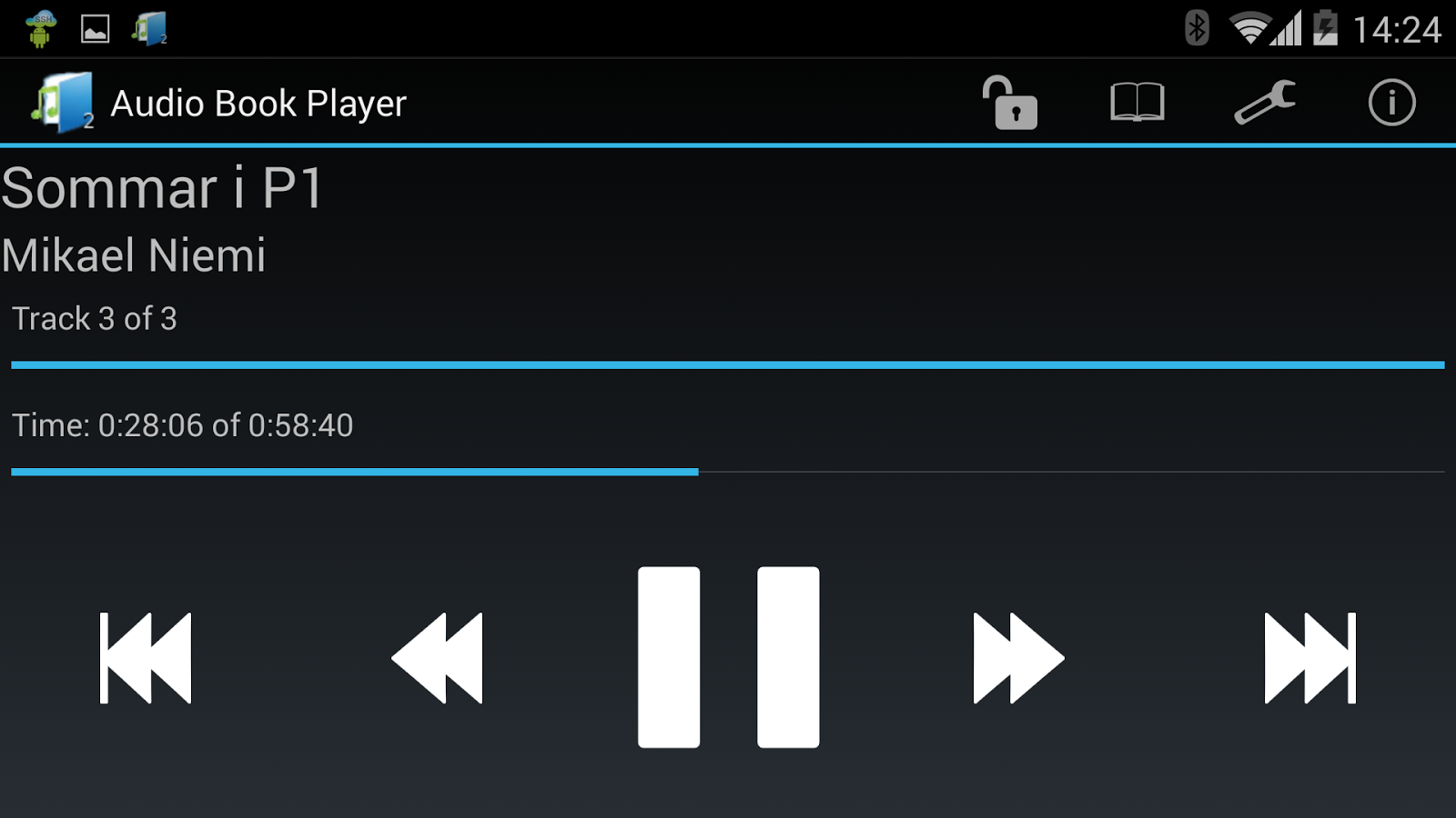 Audiobook Player 2 ($) - screenshot