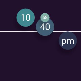 Convergence Watch Face - screenshot