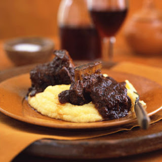 Short Ribs Braised in Coffee Ancho Chile Sauce.