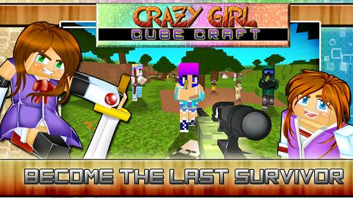 Crazy Girl Cube Craft