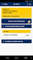 Screenshot of Skatteverket