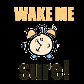 Wake Me Sure