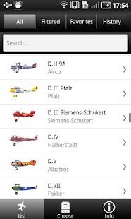 Aircraft of World War I- screenshot thumbnail