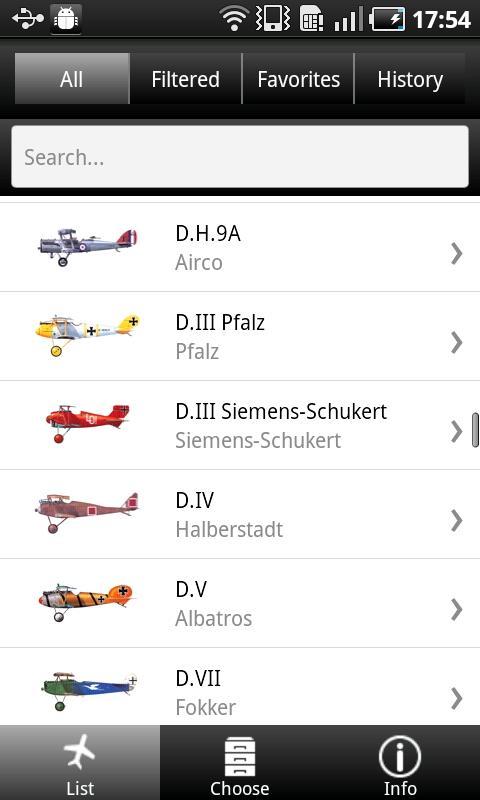 Aircraft of World War I- screenshot