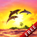 Sunrise Ocean Free icon