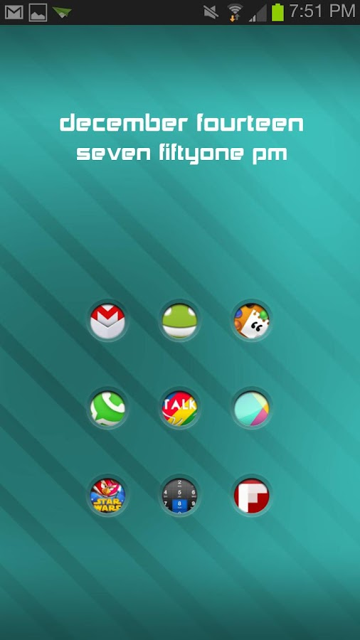 Pushy Icon Pack - screenshot