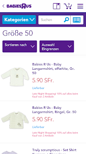 "Babies""R""Us Deutschland screenshot 2"