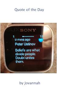 玩生活App|Smartwatch / Quote of the Day免費|APP試玩