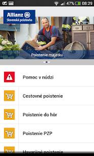 Allianz – Slovenská poisťovňa - screenshot thumbnail