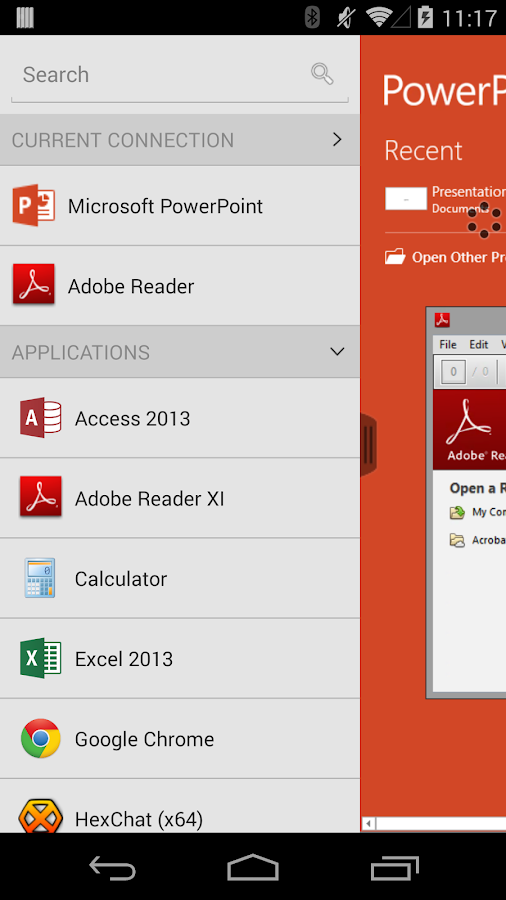 VMware Horizon Client- screenshot