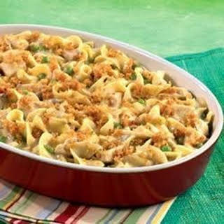 Hearty Chicken and Noodle Casserole.