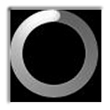 Gold ring solar eclipse icon