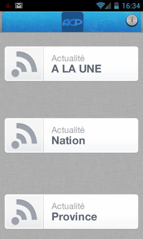 Agence Congolaise de Presse- screenshot