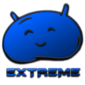 JB Extreme Launcher Theme Blue