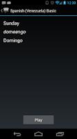 Screenshot of Spanish (Venezuela) Basic