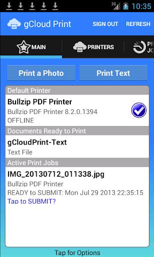 gCloud Print