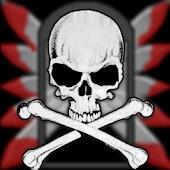 Skull Battery Widget