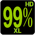 BN Pro PercentXL HD Text icon