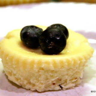 Easy Cheesecake Cupcakes.