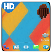 Android 4.4 kitkat theme hd