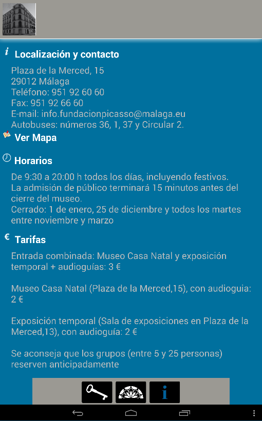 Casa Natal Picasso- screenshot