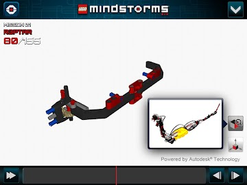 LEGO® MINDSTORMS® 3D Builder Screenshot 5