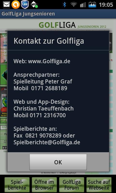 GOLFLIGA Jungsenioren- screenshot