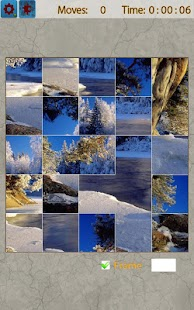 Snow Landscape Jigsaw Puzzles - screenshot thumbnail