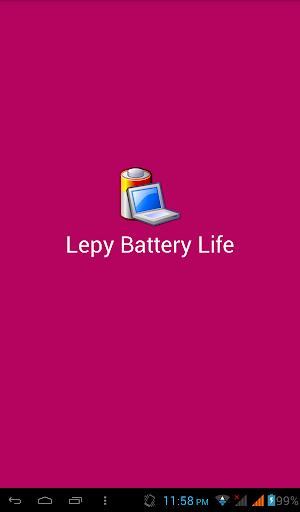 Lepy Battery Life