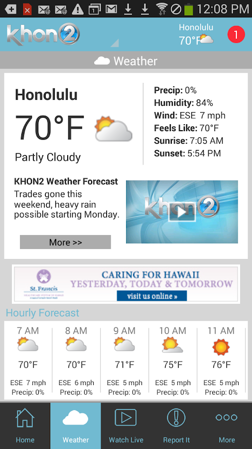 KHON2 - Honolulu News, Weather - screenshot