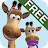Talking Gina the Giraffe Free logo